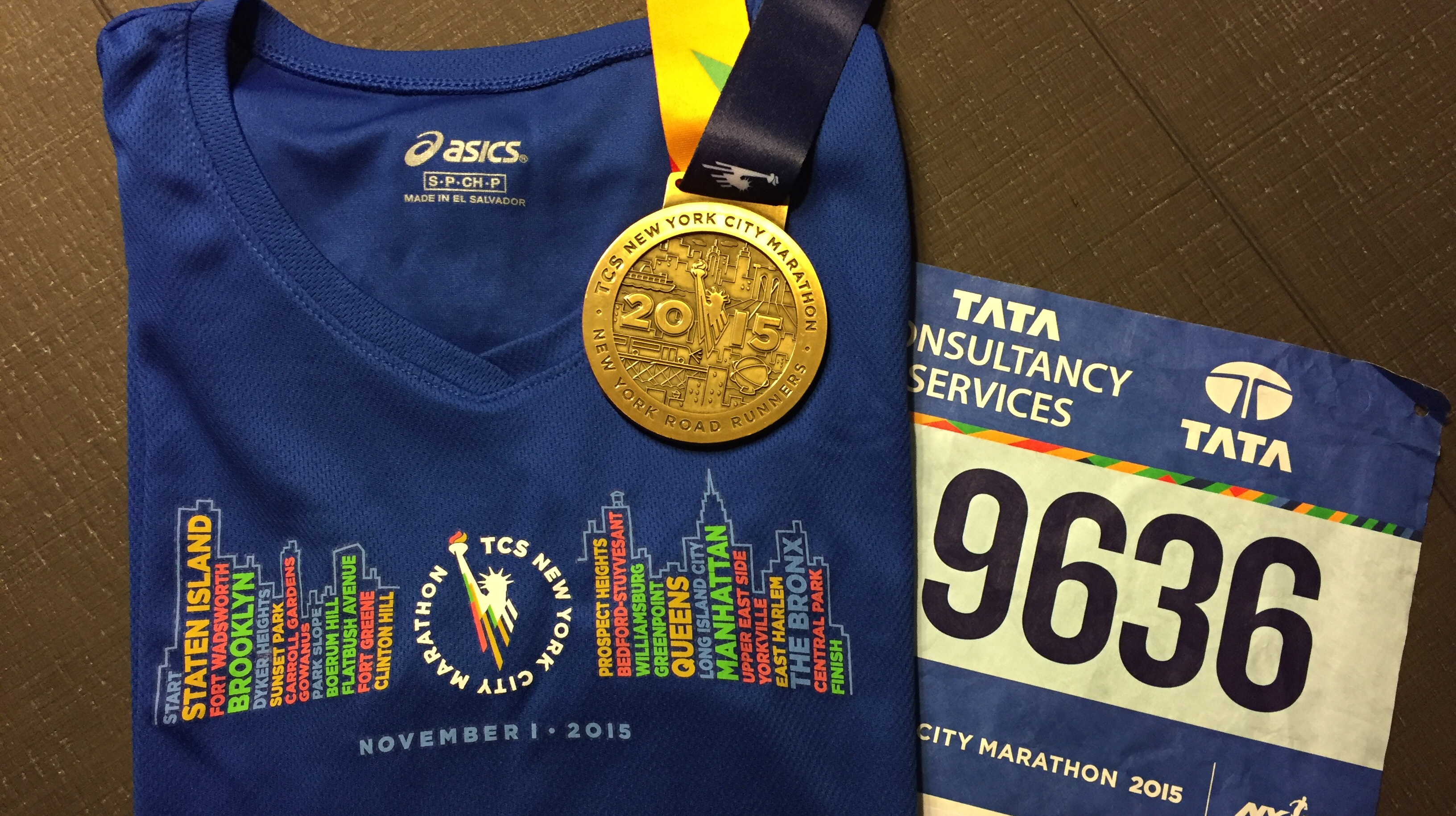 New York Marathon 2015