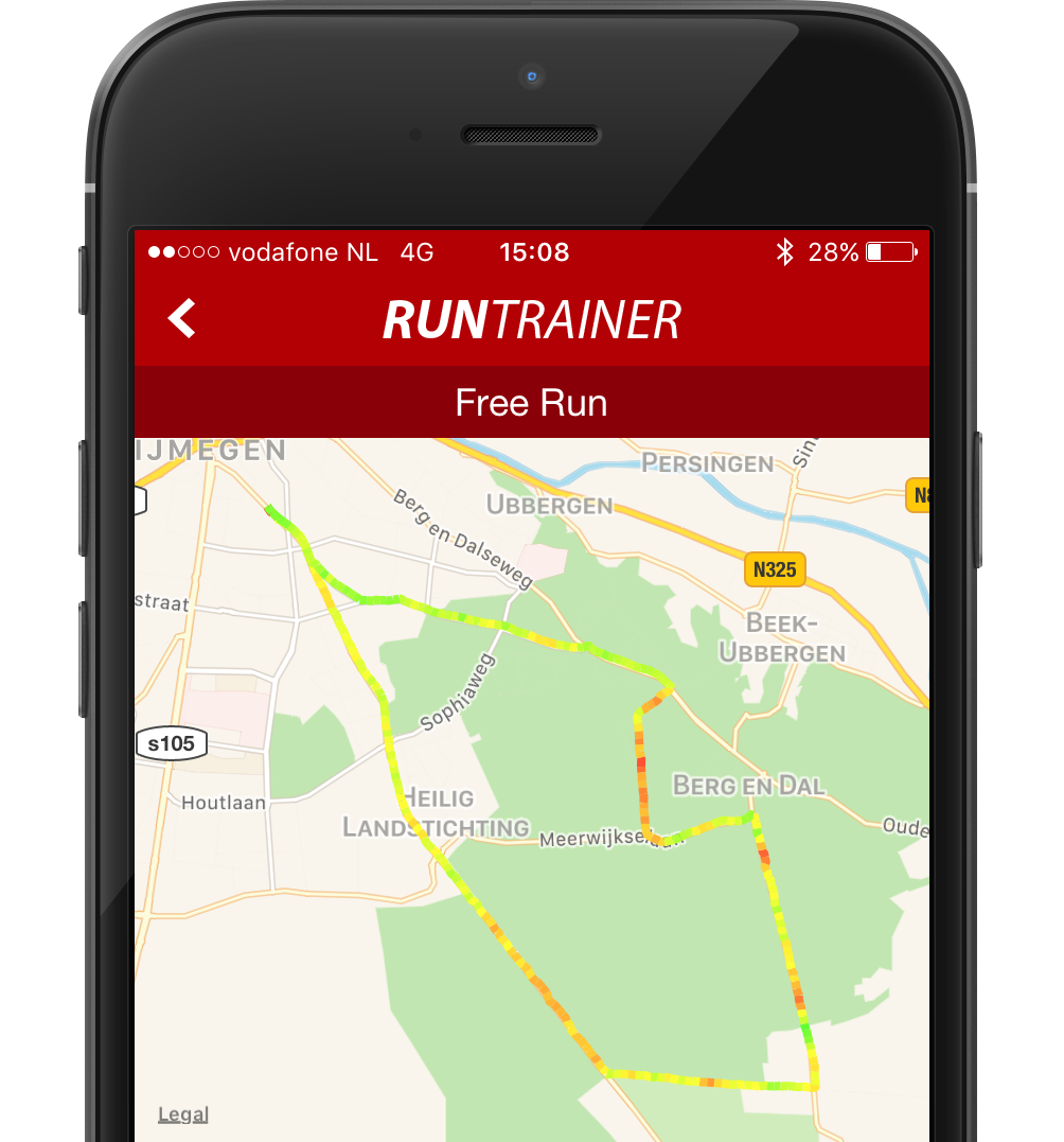 Speedmap in Run Trainer