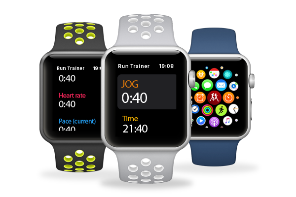 RunTrainer as Apple Watch app