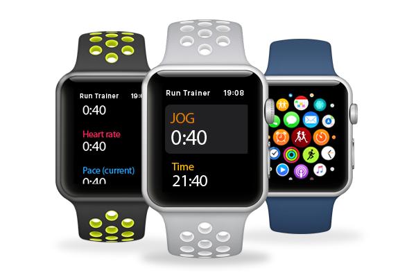 RunTrainer as Apple Watch app